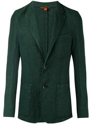 Barena Two Button Blazer Green
