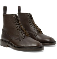 Tricker's Anniversary Edition Cruiser Tramping Leather Boots Brown