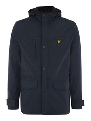 Lyle And Scott Microfleece Lined Jacket Navy