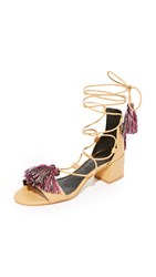 Rebecca Minkoff Isla City Sandals Natural