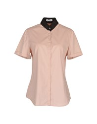 Cnc Costume National Costume National Short Sleeve Shirts Pink