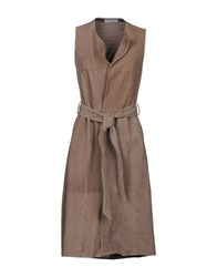 Bailey 44 Overcoats Khaki