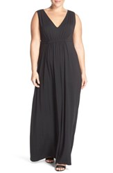 Tart Plus Size Women's Grecia Sleeveless Jersey Maxi Dress