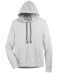 American Rag Men's Thermal Knit Raglan Sleeve Hoodie Only At Macy's Slate Heather