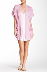 Riller And Fount Lou Patch Pocket Cardigan Pink