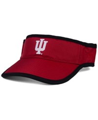 Top Of The World Indiana Hoosiers Baked Visor Crimson