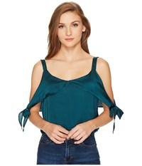 Lucy Love Allure Top Emerald City Women's Clothing Green