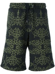 Marcelo Burlon County Of Milan Alonso Shorts Green