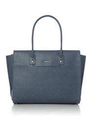 Furla Linda Tote Bag Light Blue
