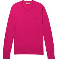 Burberry Cashmere Sweater Pink