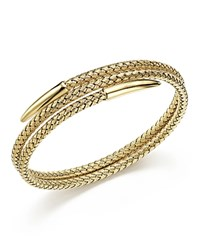 Bloomingdale's 14K Yellow Gold Woven Wrap Bangle
