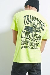 Forever 21 Human Condition Traphouse Tee Neon Green Black