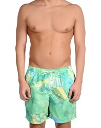 Loro Piana Swimwear Swimming Trunks Men Light Green