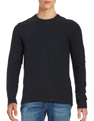 Selected Clarkson Long Sleeved Textured Shirt Anthracite