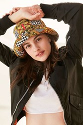 Urban Outfitters Mixed Print Bucket Hat Assorted