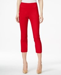Styleandco. Style And Co. Pull On Capri Pants Only At Macy's New Red Amore