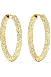 Carolina Bucci Florentine 18 Karat Gold Hoop Earrings One Size