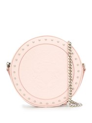 Balmain Embossed Disco Bag Pink