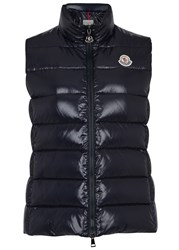 Moncler Ghany Navy Quilted Shell Gilet