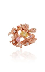 Anabela Chan M'o Exclusive Rose Orchard Ring Pink