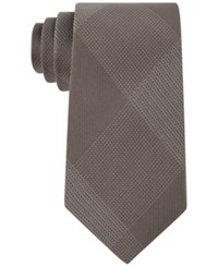 Sean John Men's Hidden Grid Tie Taupe