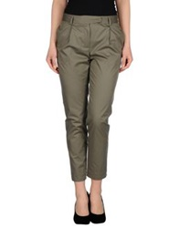 Paul And Joe Sister Casual Pants Military Green