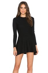 Lucca Couture Long Sleeve Shift Dress Black
