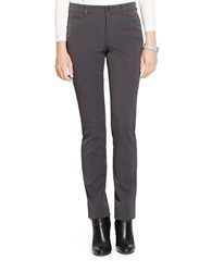 Lauren Ralph Lauren Petite Stretch Skinny Dress Pants Grey