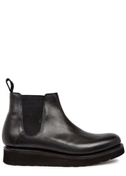 Grenson Lydia Black Leather Chelsea Boots