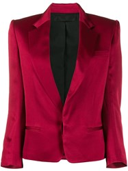 Haider Ackermann Colour Block Blazer Red