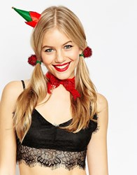 Asos Christmas Santas Helper Costume Pack Multi