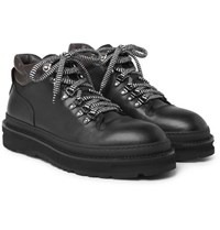 Dunhill All Terrain Leather Hiking Boots Black