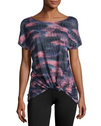 Marika Tek Slimming Knot Performance Tee Multi Pattern