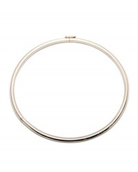 Eddie Borgo Peaked Sterling Silver Collar Necklace