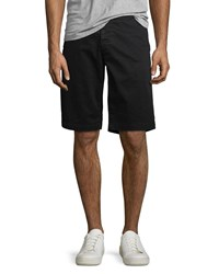 Ag Jeans Griffin Flat Front Shorts Sba Black