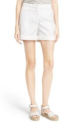 Women's Theory 'Wehnday' Chino Shorts White