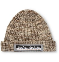 Aries Space Dyed Knitted Beanie Neutral