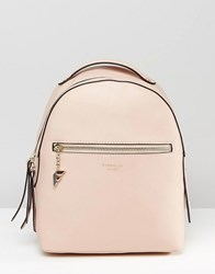 Fiorelli Anouk Simple Backpack With Zip Pocket Detail Anouk Petal Pink