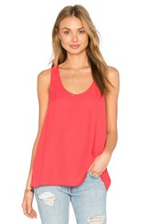 Three Eighty Two Daria Racerback Tank Red