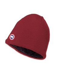 Canada Goose Merino And Fleece Beanie