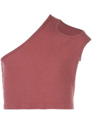 Telfar Ribbed Asymmetric Tank Top 60