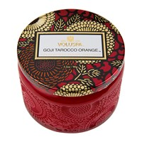 Voluspa Japonica Limited Edition Candle Goji And Tarrocco Orange Red