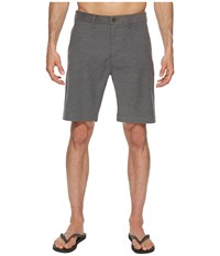 Vissla Boneyard Hybrid Walkshorts 20 Charcoal Heather Gray