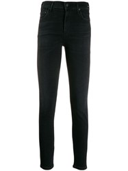 Citizens Of Humanity Cropped Skinny Jeans Black