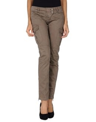 Pinko Black Casual Pants Khaki