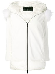 Rrd Hooded Puffer Jacket White