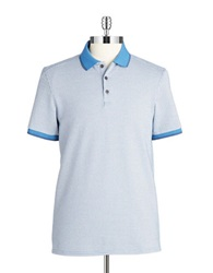 Vince Camuto Patterend Polo Ensignia Blue