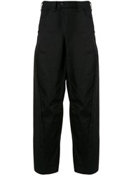 Julius Curved Wide Leg Trousers 60