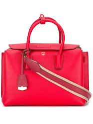 Mcm 'Milla' Medium Tote Red