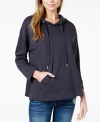 Chrldr Cotton Wild Thing Graphic Hoodie Gray
